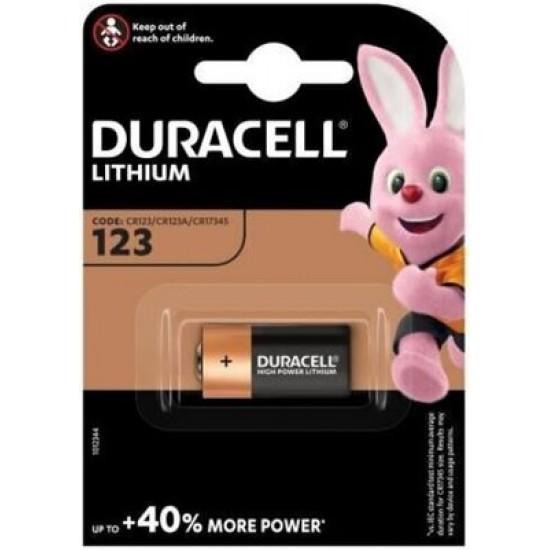 Baterie Duracell Lithium CR123