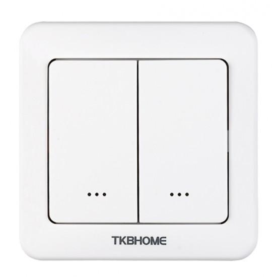 TKB Întrerupător inteligent dublu(colț rotund)