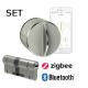 SET Yala Inteligenta Danalock V3 Zigbee + cilindru